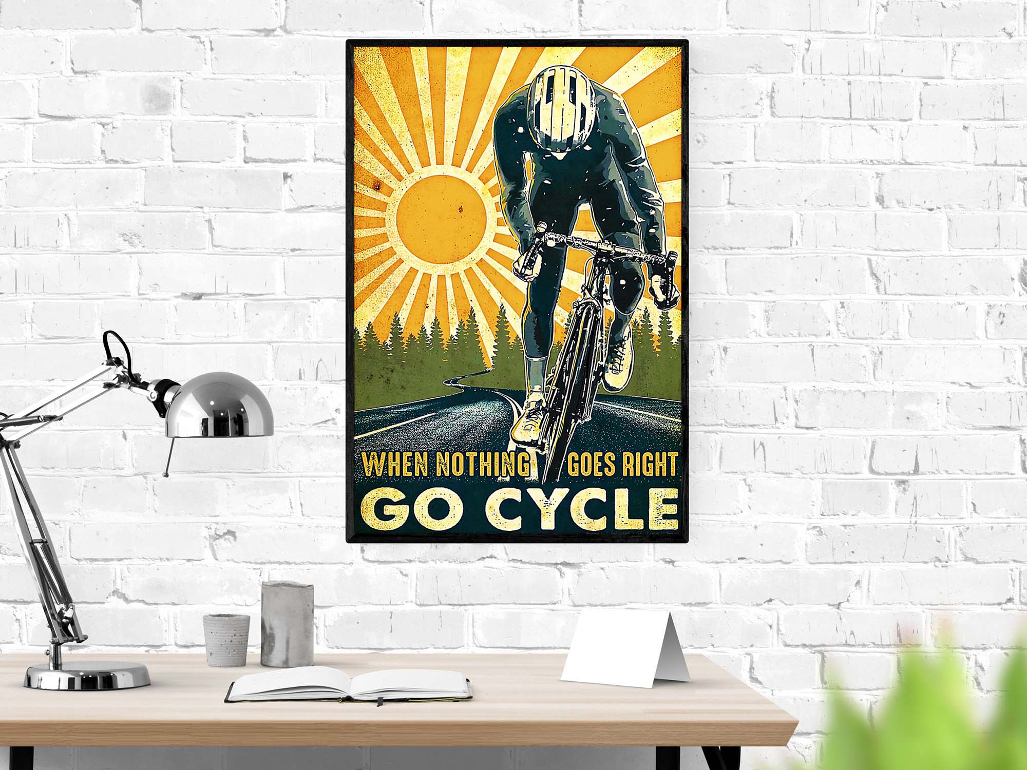 When nothing goes right go cycle poster 1