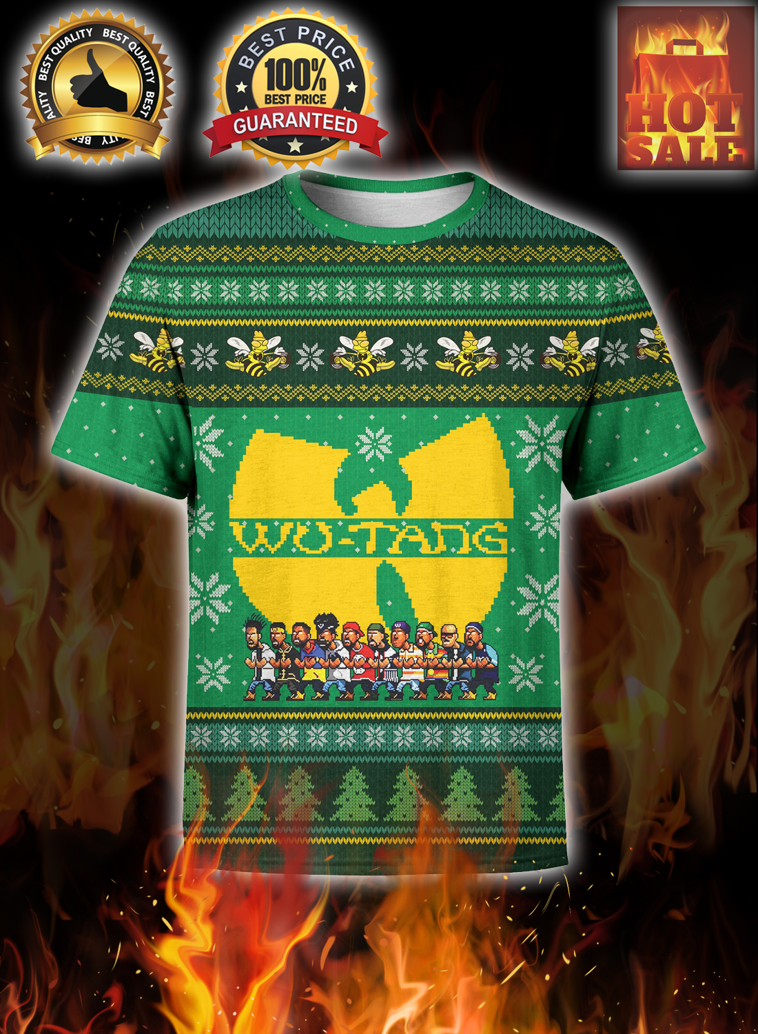 Wu-tang ugly christmas sweater 2