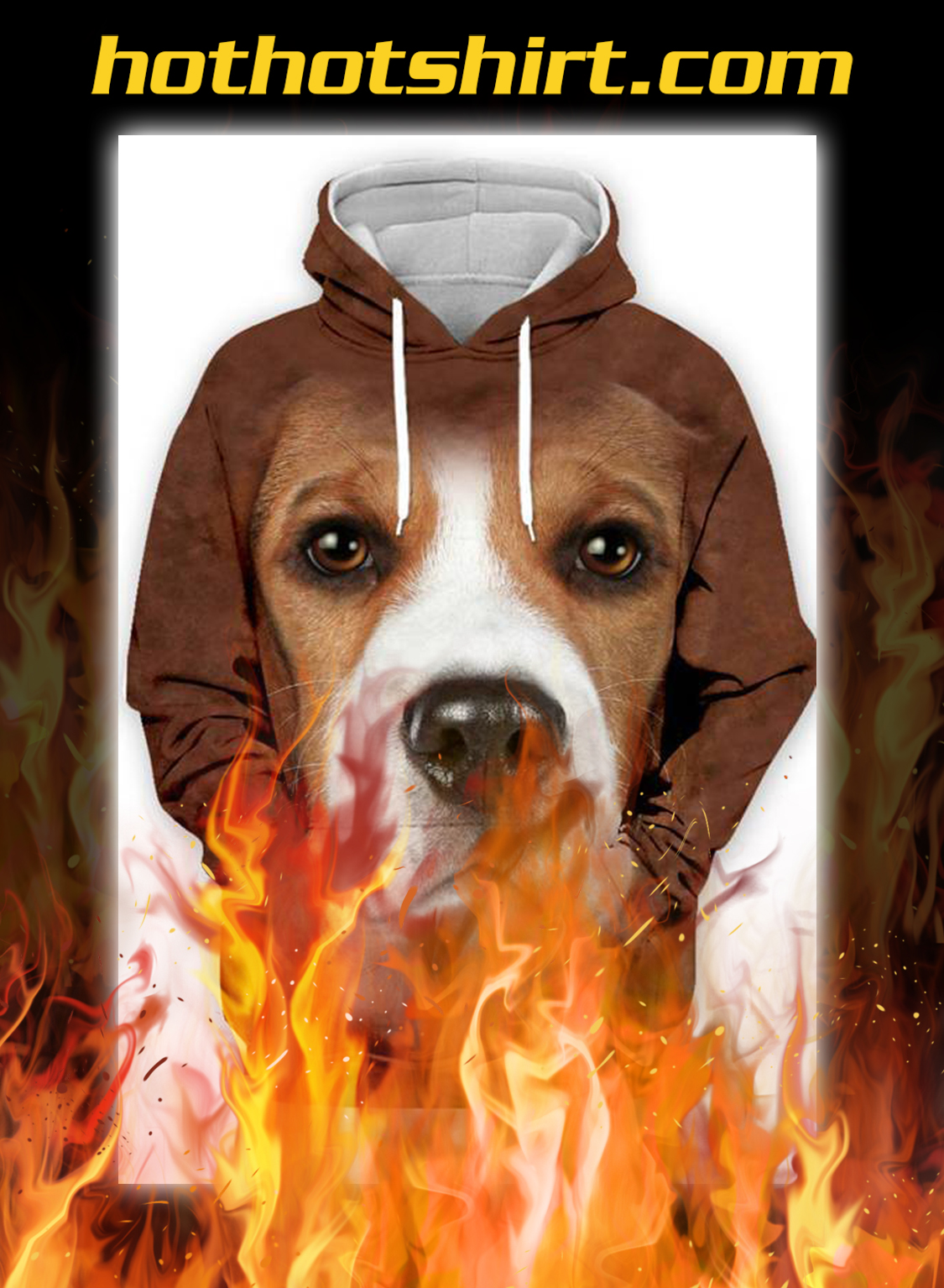 Animals Dogs Beagle Unisex 3D Graphic Hoodies - pic 1