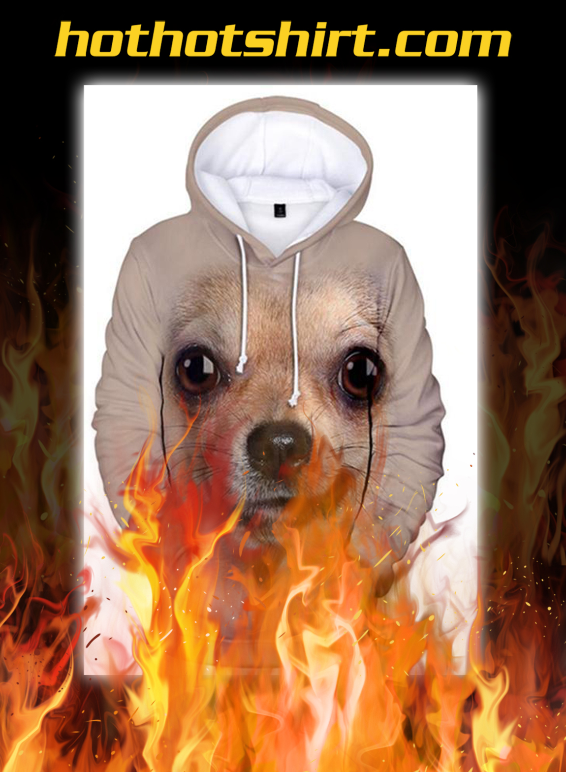 Animals Dogs Chihuahua Unisex 3D Graphic Hoodies - pic 1