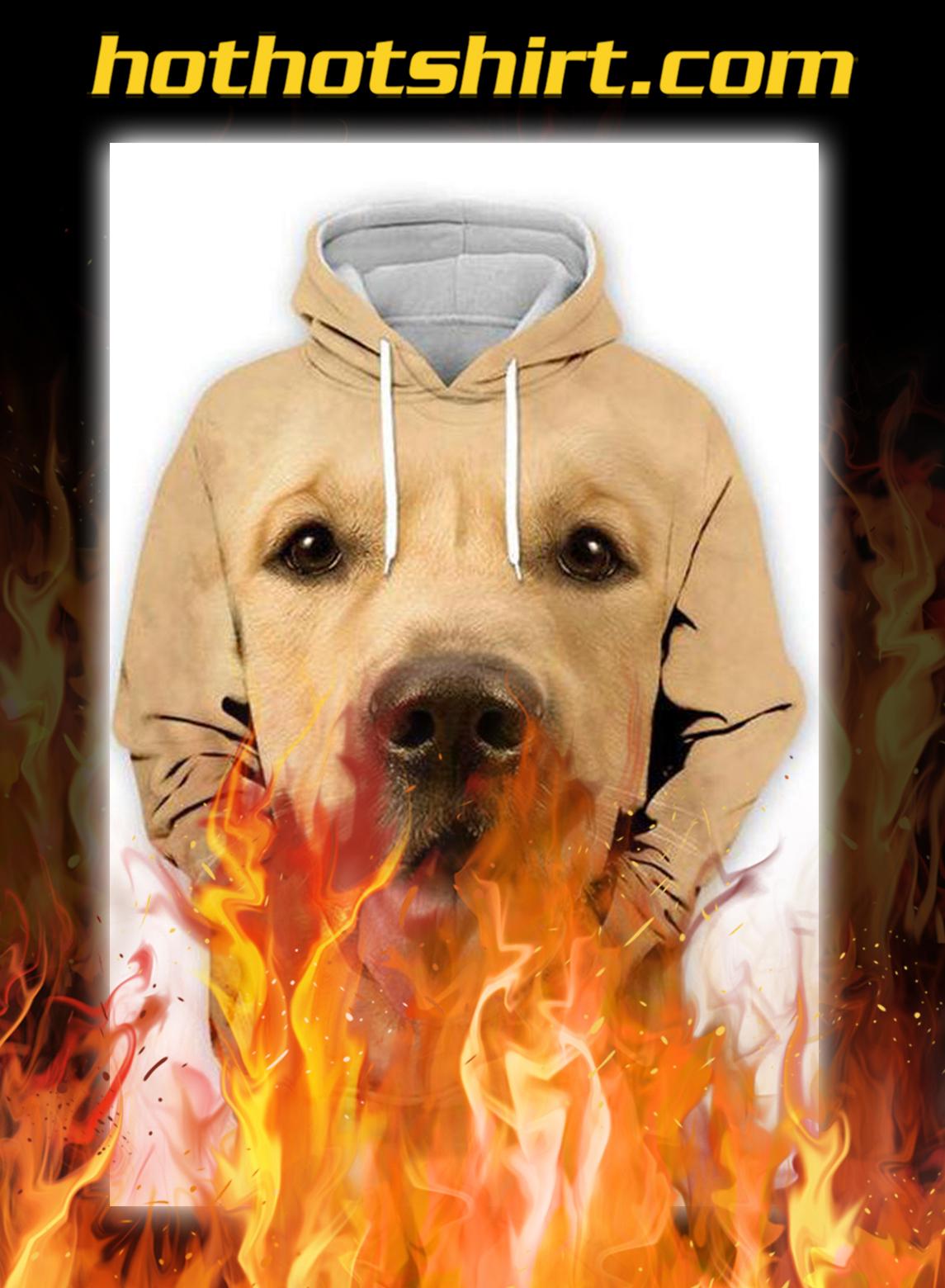 Animals Dogs Golden Retriever Unisex 3D Graphic Hoodies - pic 1