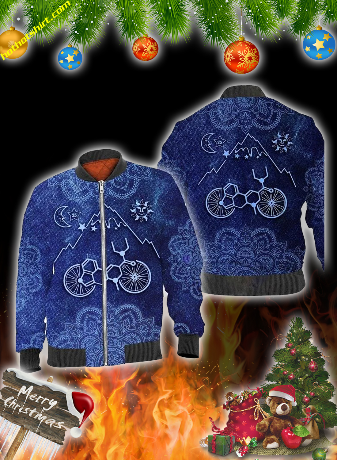 Bicycle take a trip 3d all over printed hoodie, shirt and sweatshirt 1