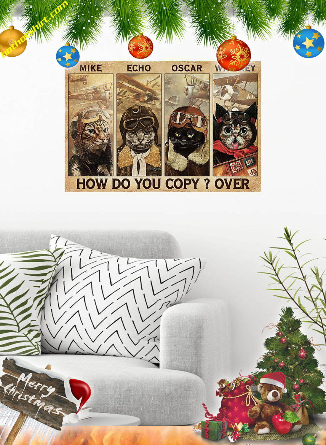 Cats pilot Mike echo oscar whiskey how do you copy over poster 1