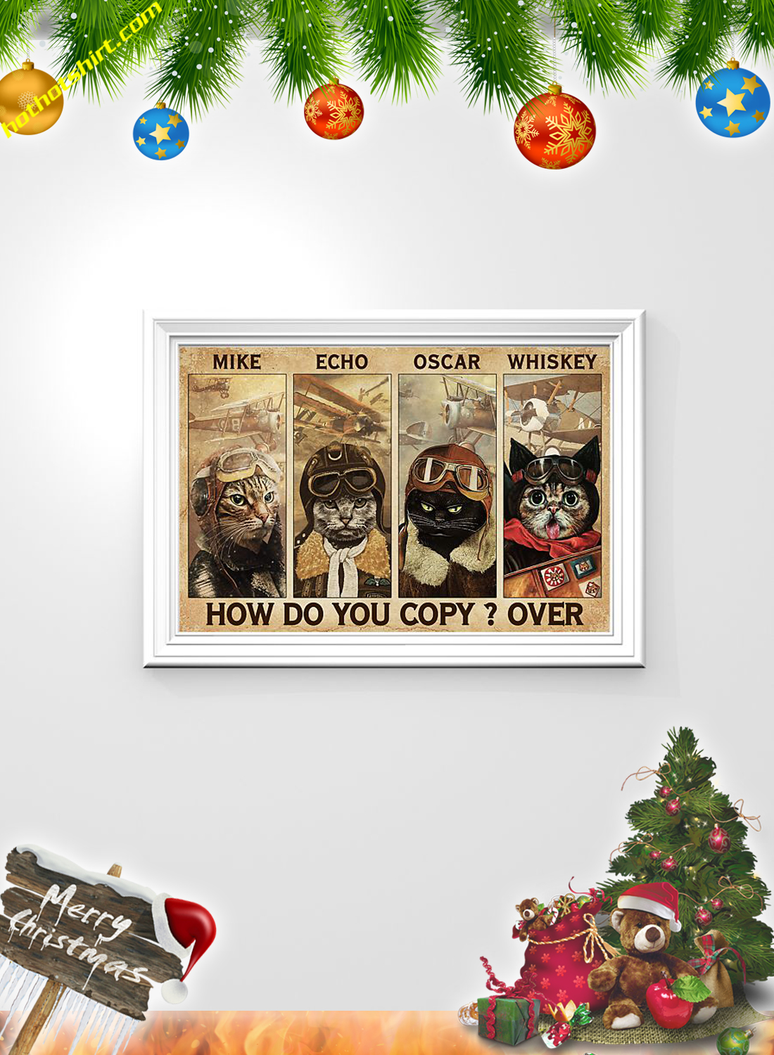 Cats pilot Mike echo oscar whiskey how do you copy over poster 2