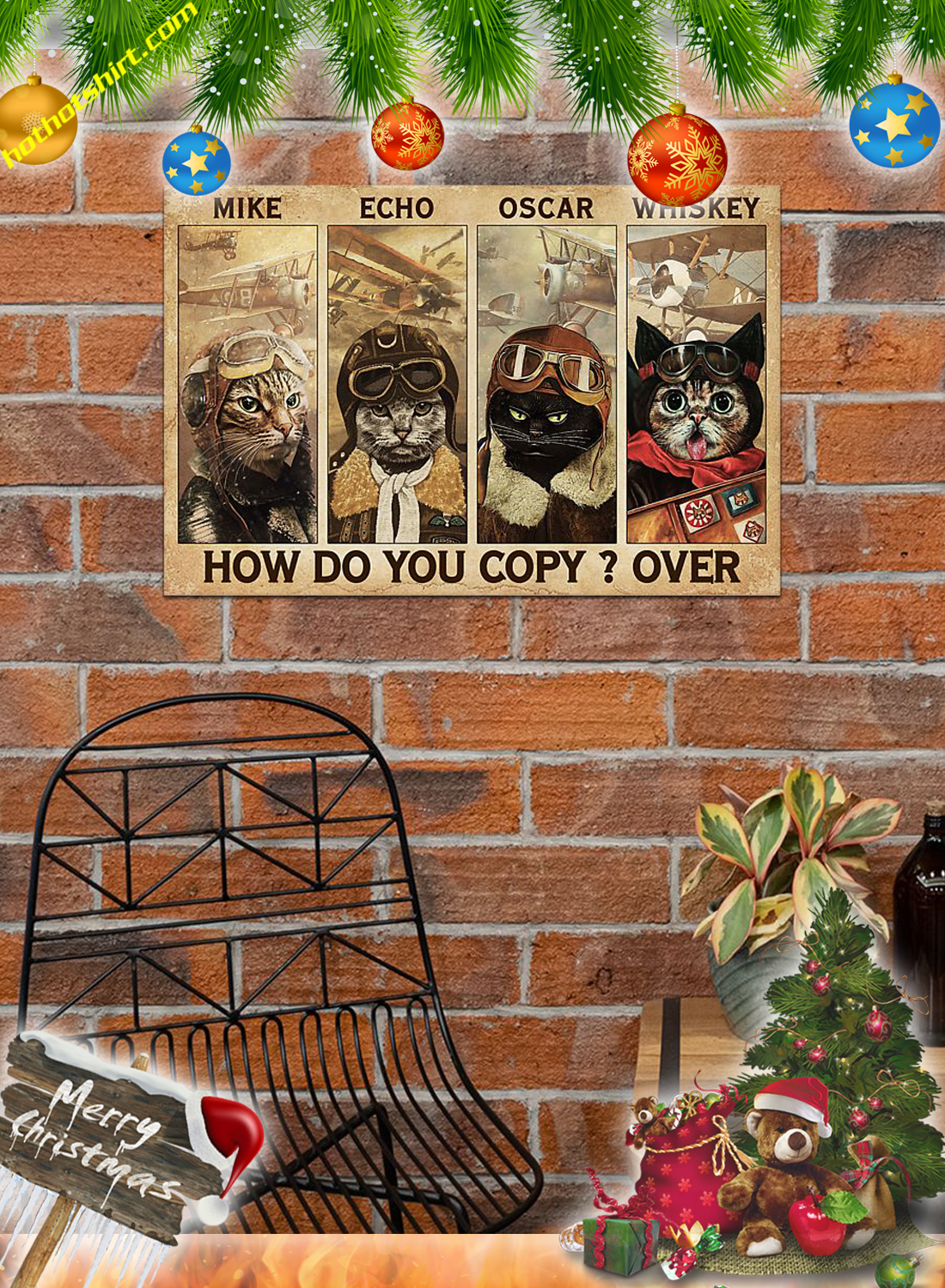 Cats pilot Mike echo oscar whiskey how do you copy over poster 3