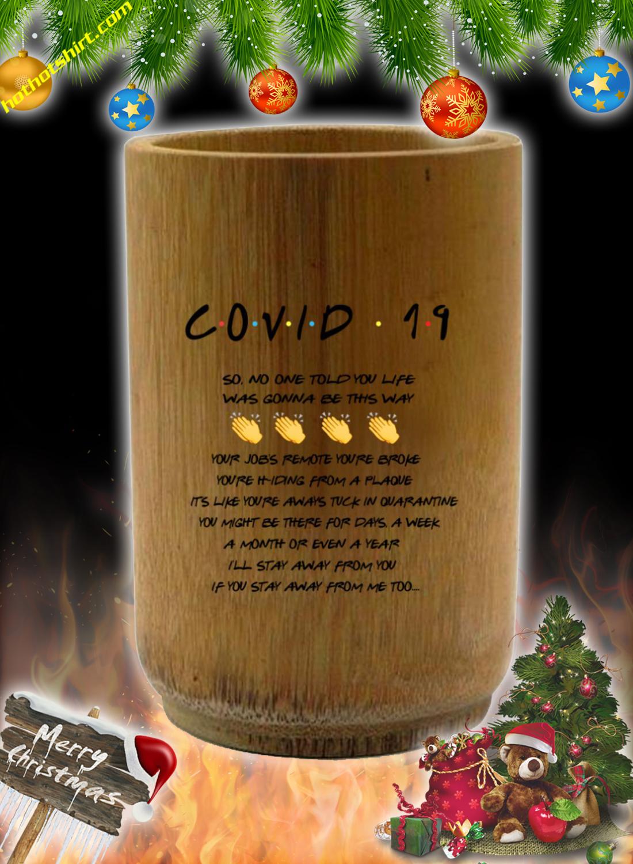 Covid 19 friends Tv show mug 2