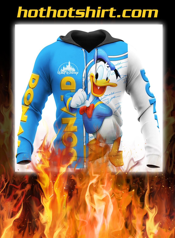 Donald duck disney 3d hoodie- pic 1