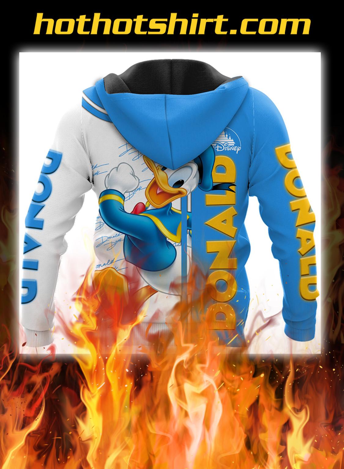 Donald duck disney 3d hoodie- pic 2