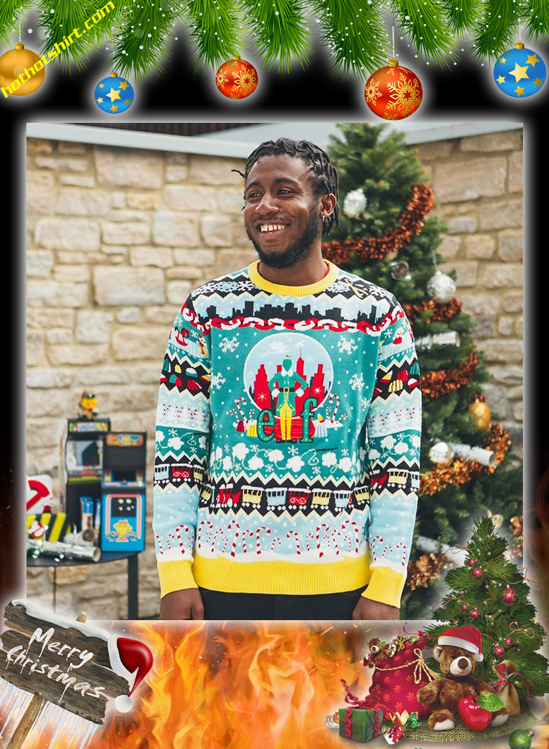 Elf christmas jumper and ugly sweater 3