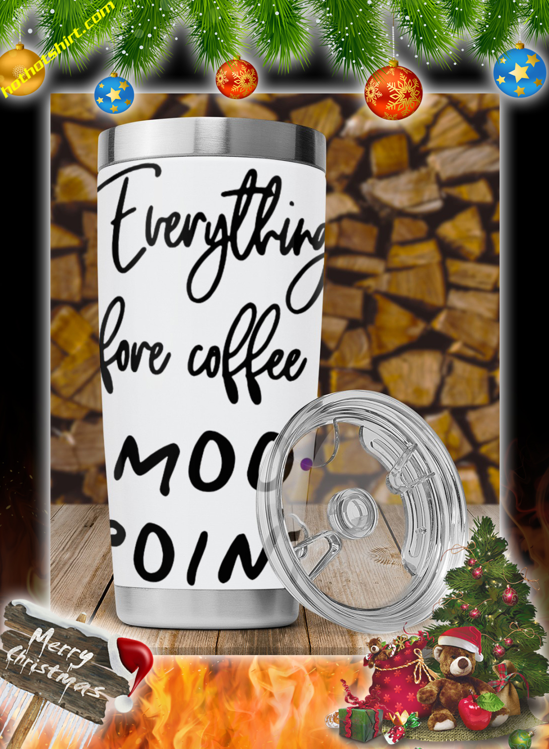 Everything before coffee is a moo point mug 2