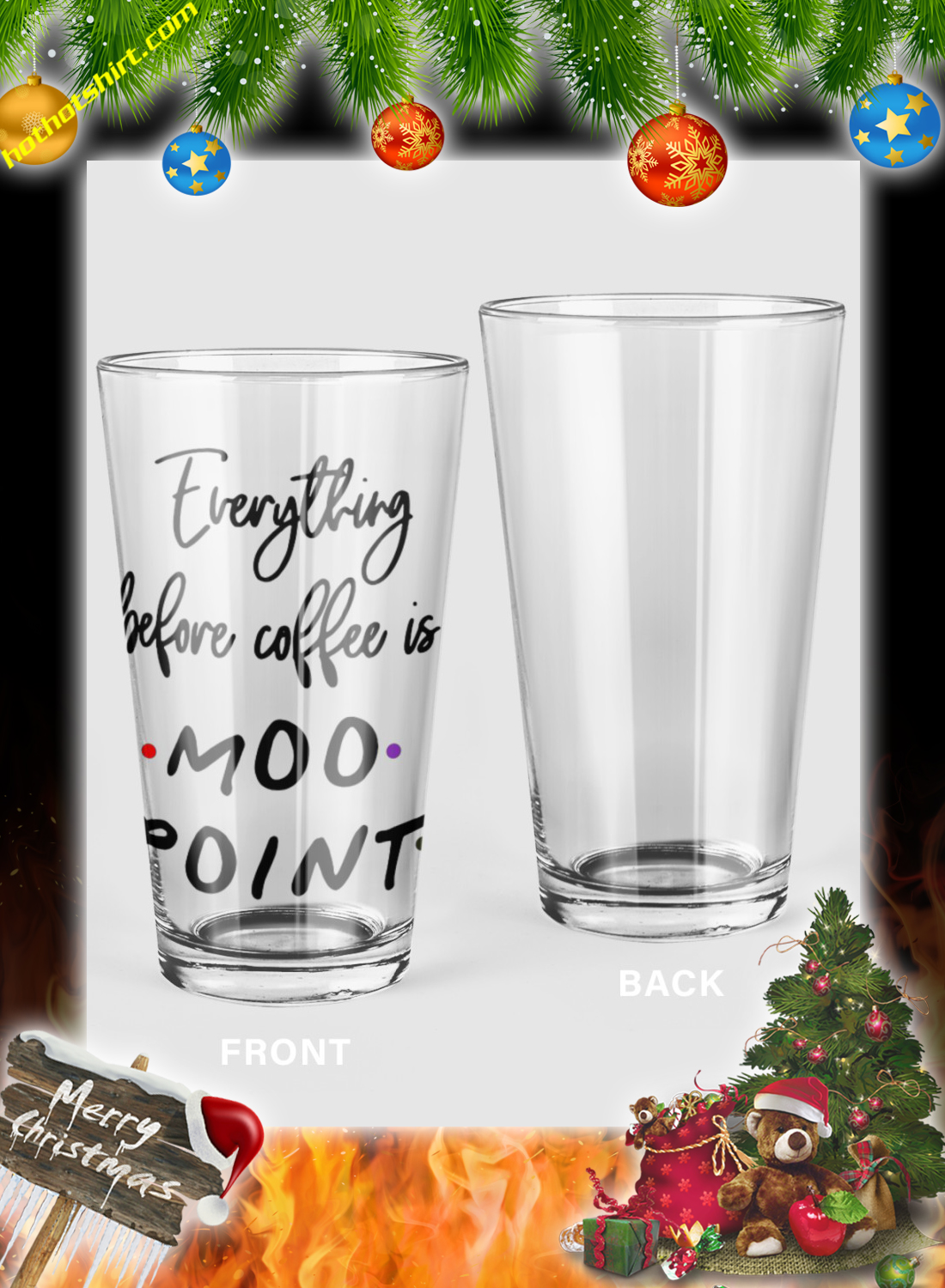 Everything before coffee is a moo point mug 3