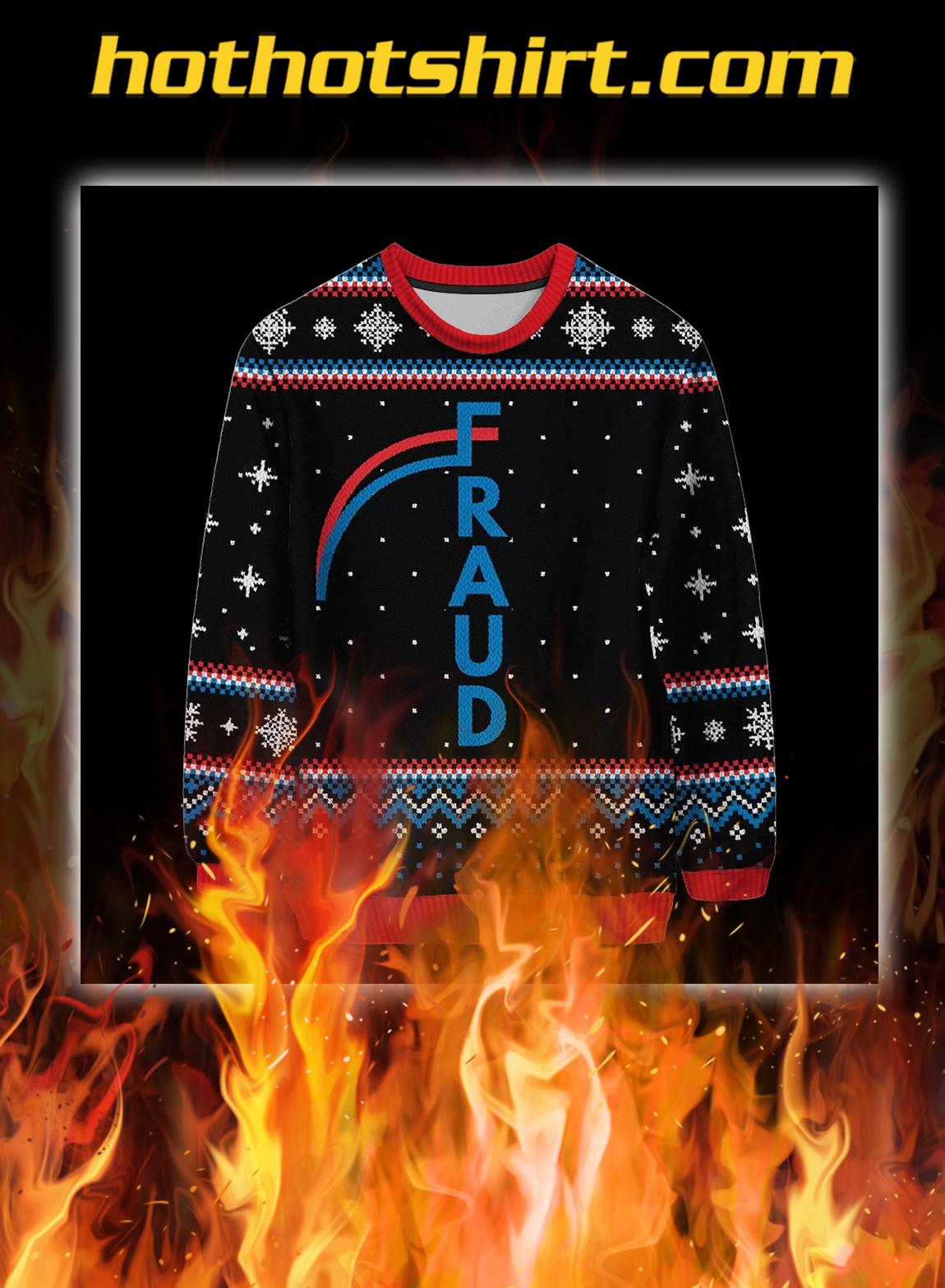 Fraud christmas sweater - pic 1