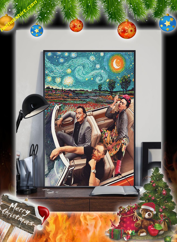 Frida Kahlo Banksy Salvador Dali Poster 1