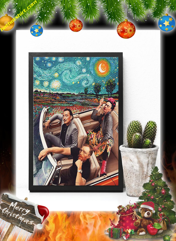 Frida Kahlo Banksy Salvador Dali Poster 3