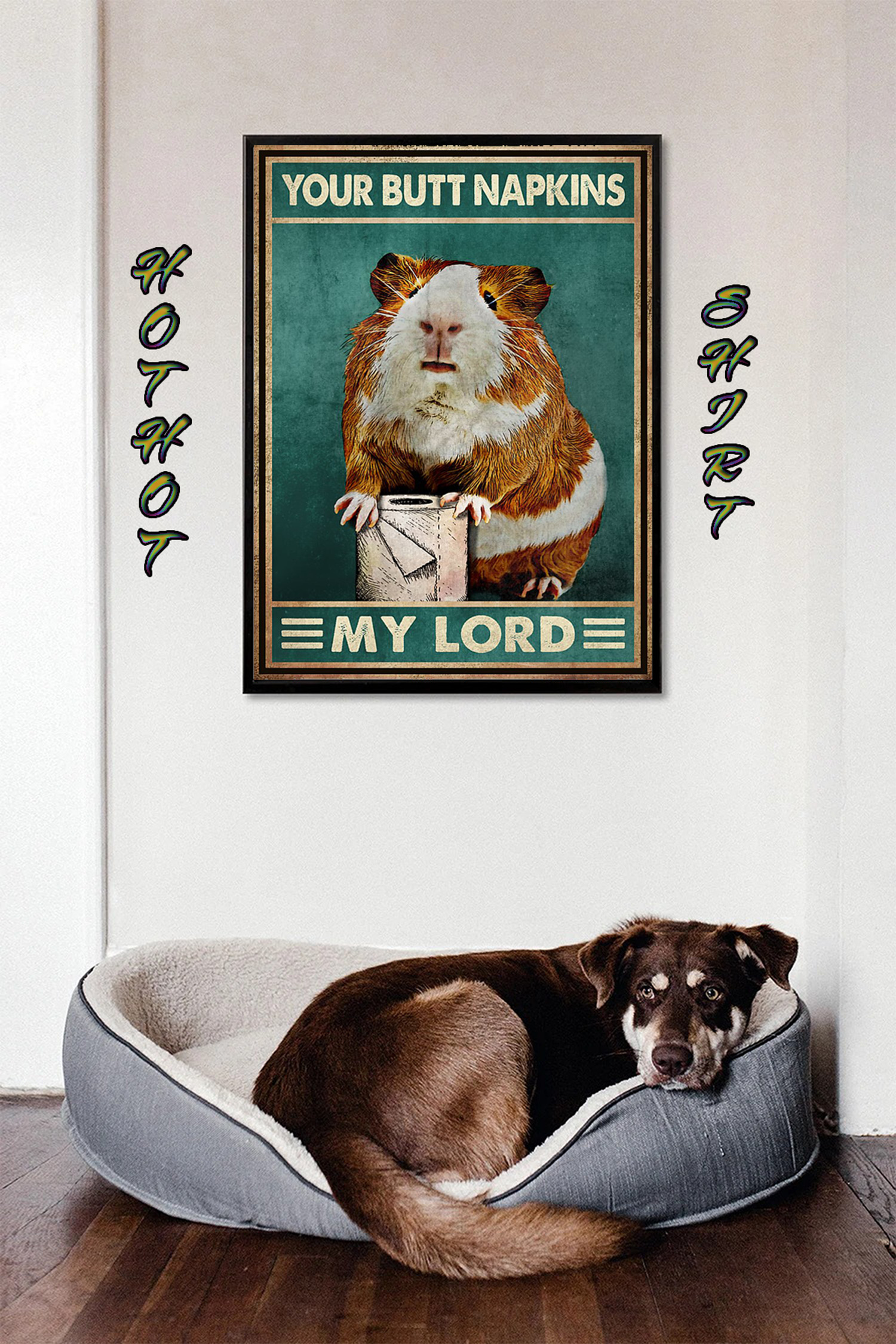 Hamster Guinea Pig Your Butt Napkins My Lord poster 1