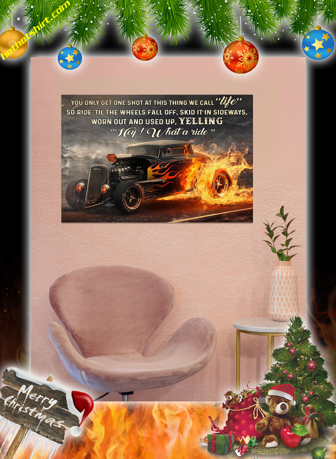 Hot rod what a ride poster 1