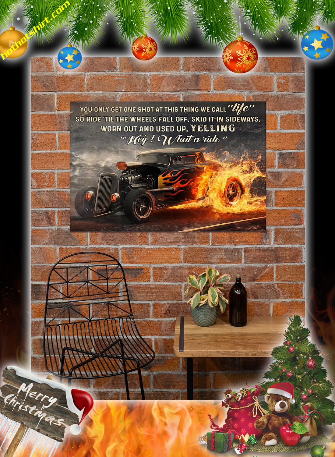 Hot rod what a ride poster 2