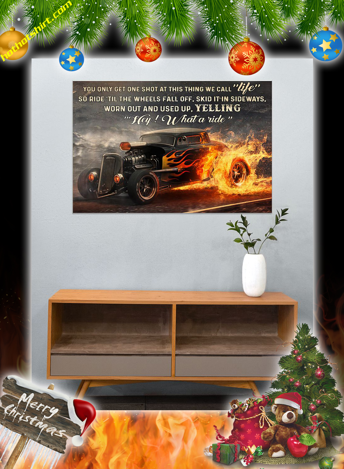 Hot rod what a ride poster 3