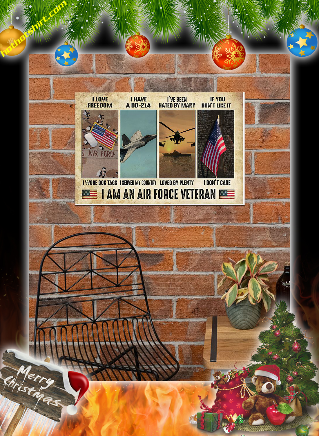I am an air force veteran poster 2