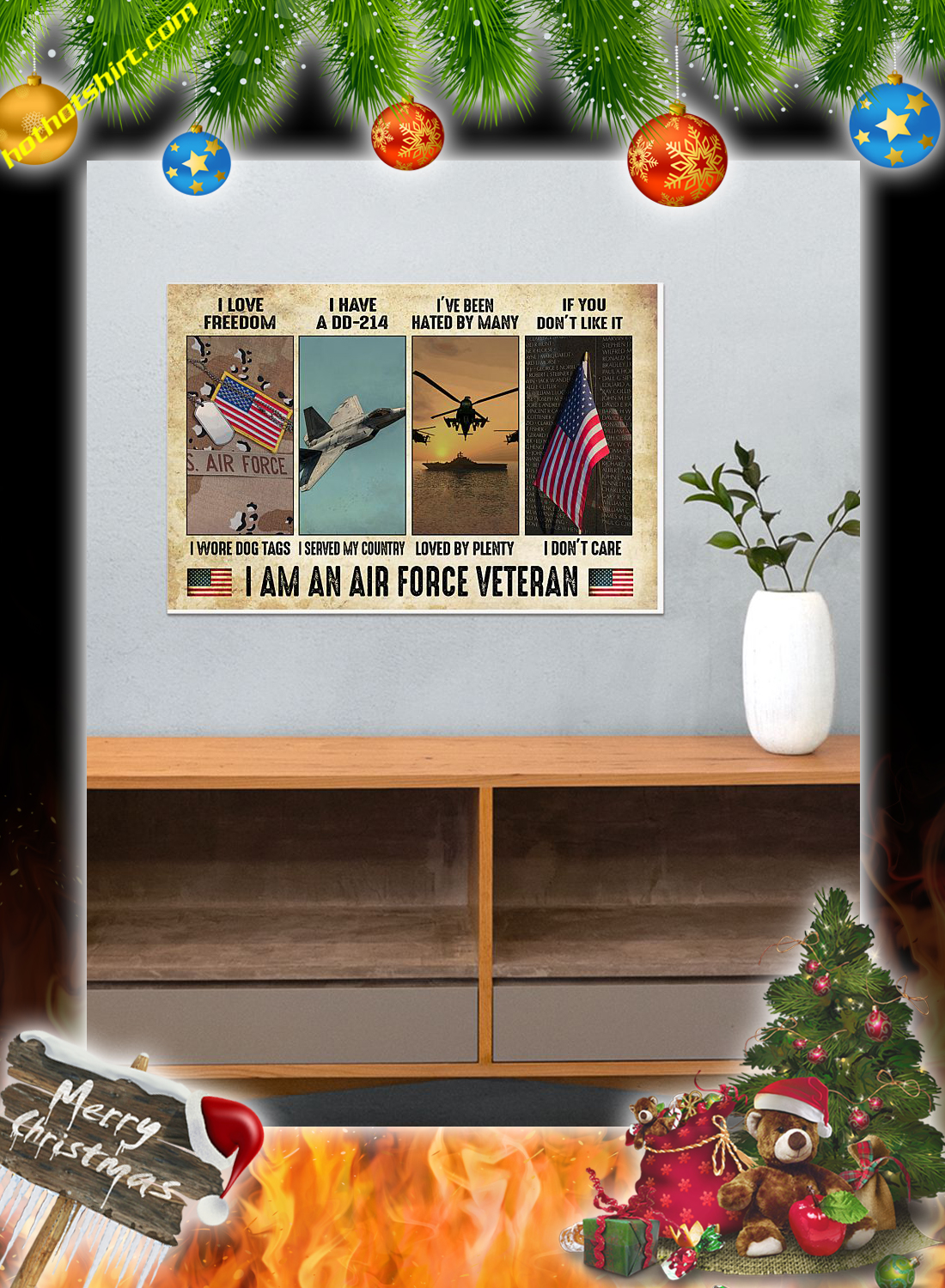 I am an air force veteran poster 3