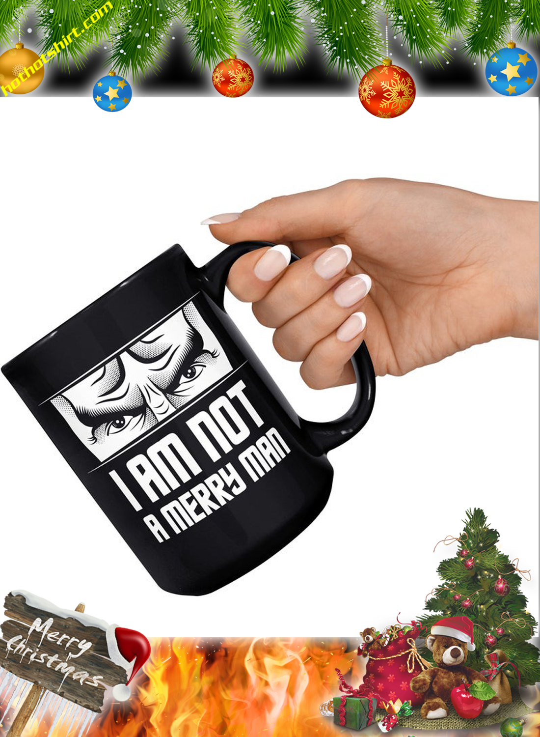 I am not a merry man mug 2
