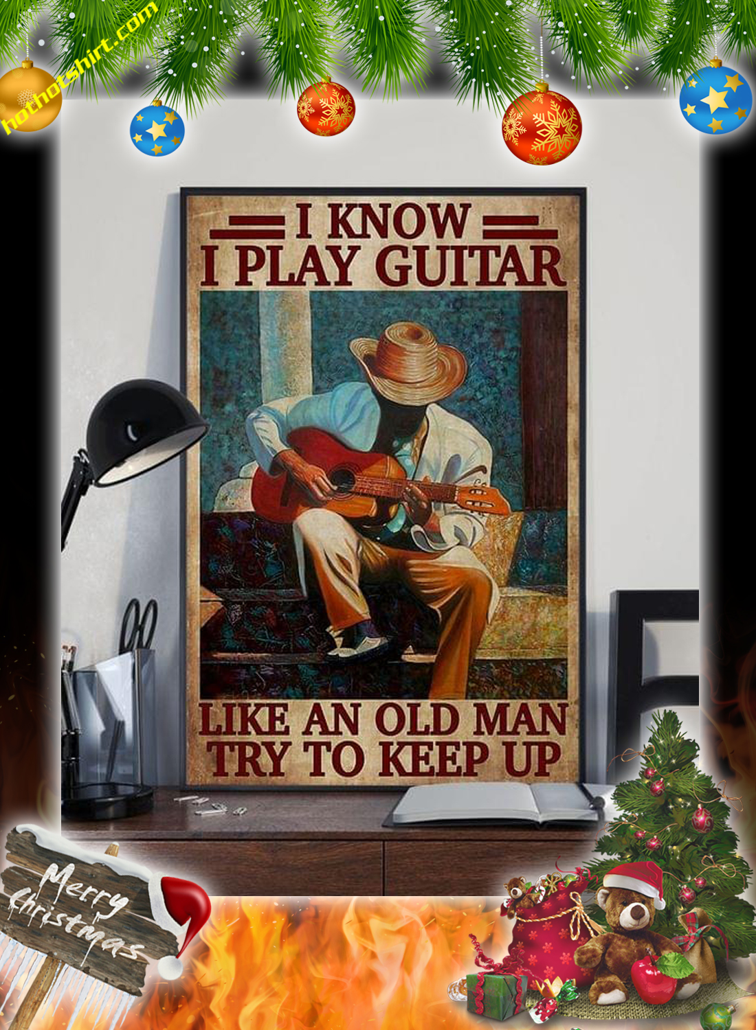 I know i play guitar like an old man try to keep up poster 2