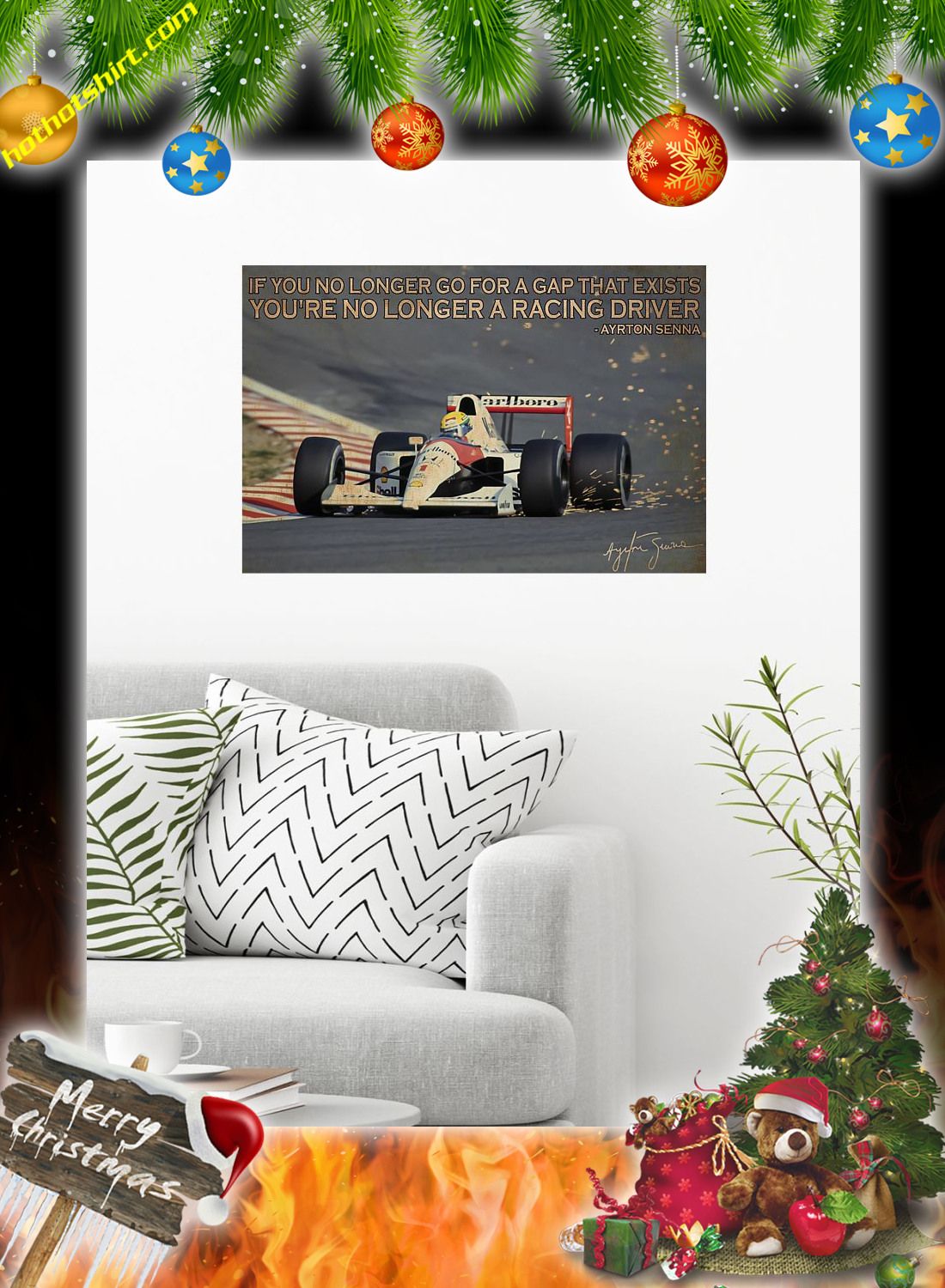 If you longer go for a gap that exists ayrton senna poster 1