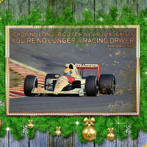 If you longer go for a gap that exists ayrton senna poster