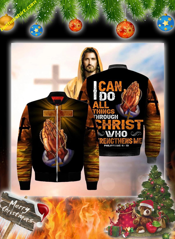 Jesus hand cross 3d christmas sweatshirt 5