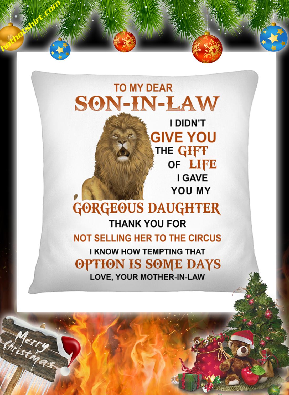 Lion To my dear son in law mug 2