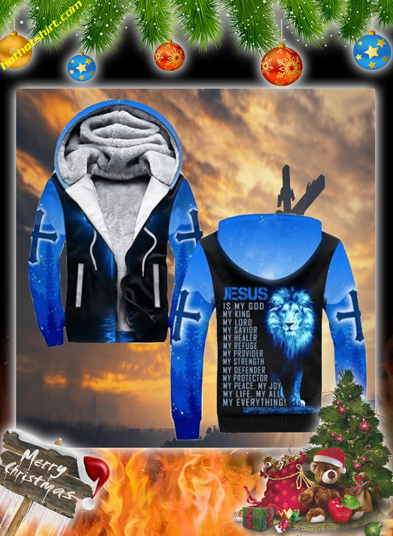 Lion jesus 3d christmas sweatshirt 3