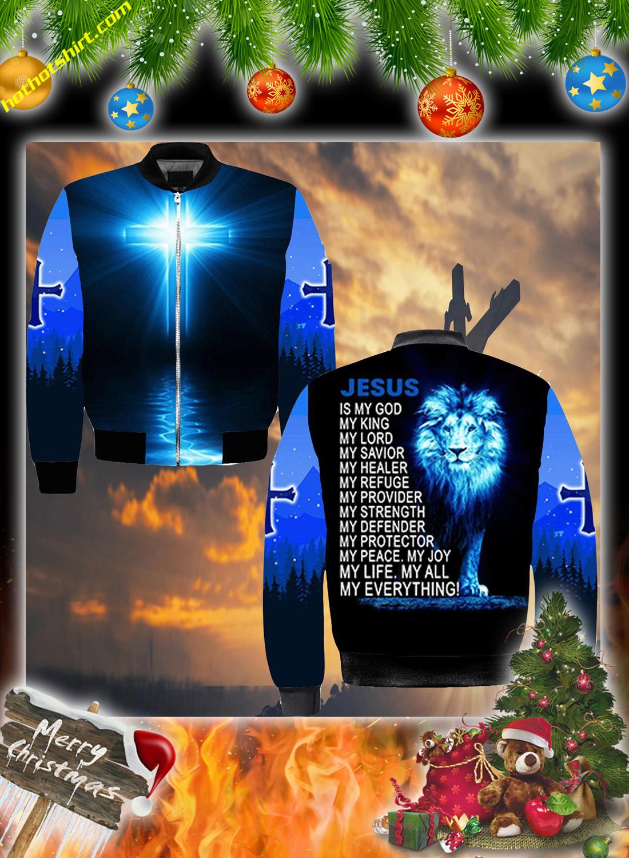 Lion jesus 3d christmas sweatshirt 4