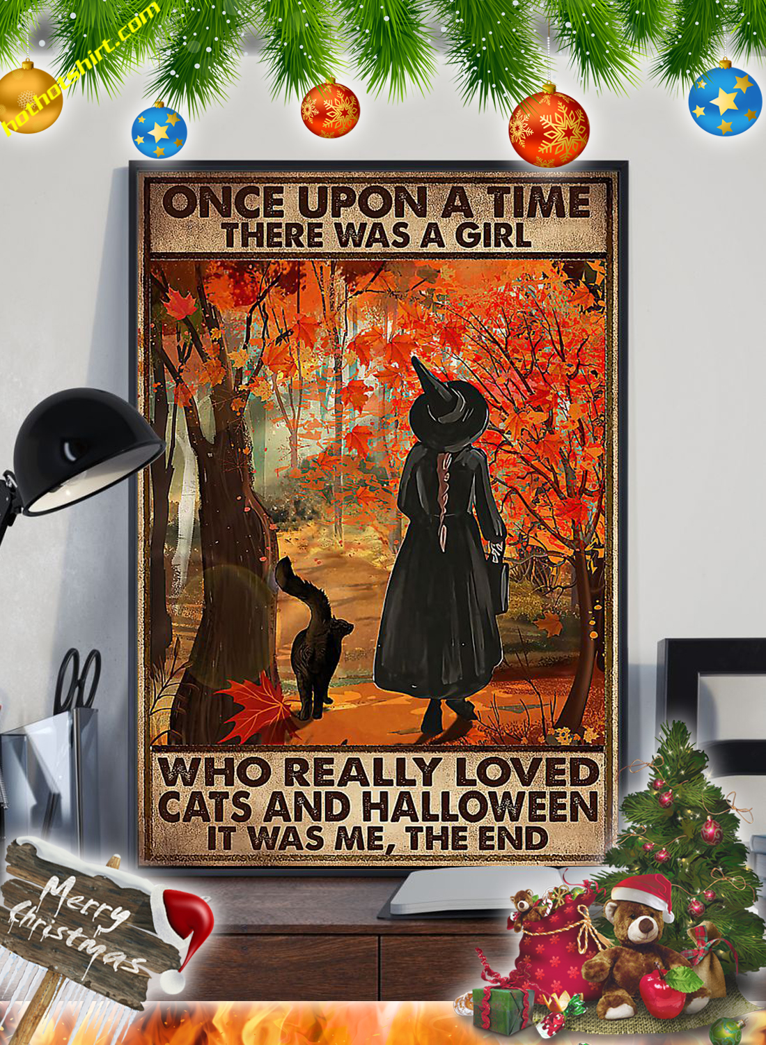 Once upon a time there was a girl who really loved cats and halloween it was me the end poster 2