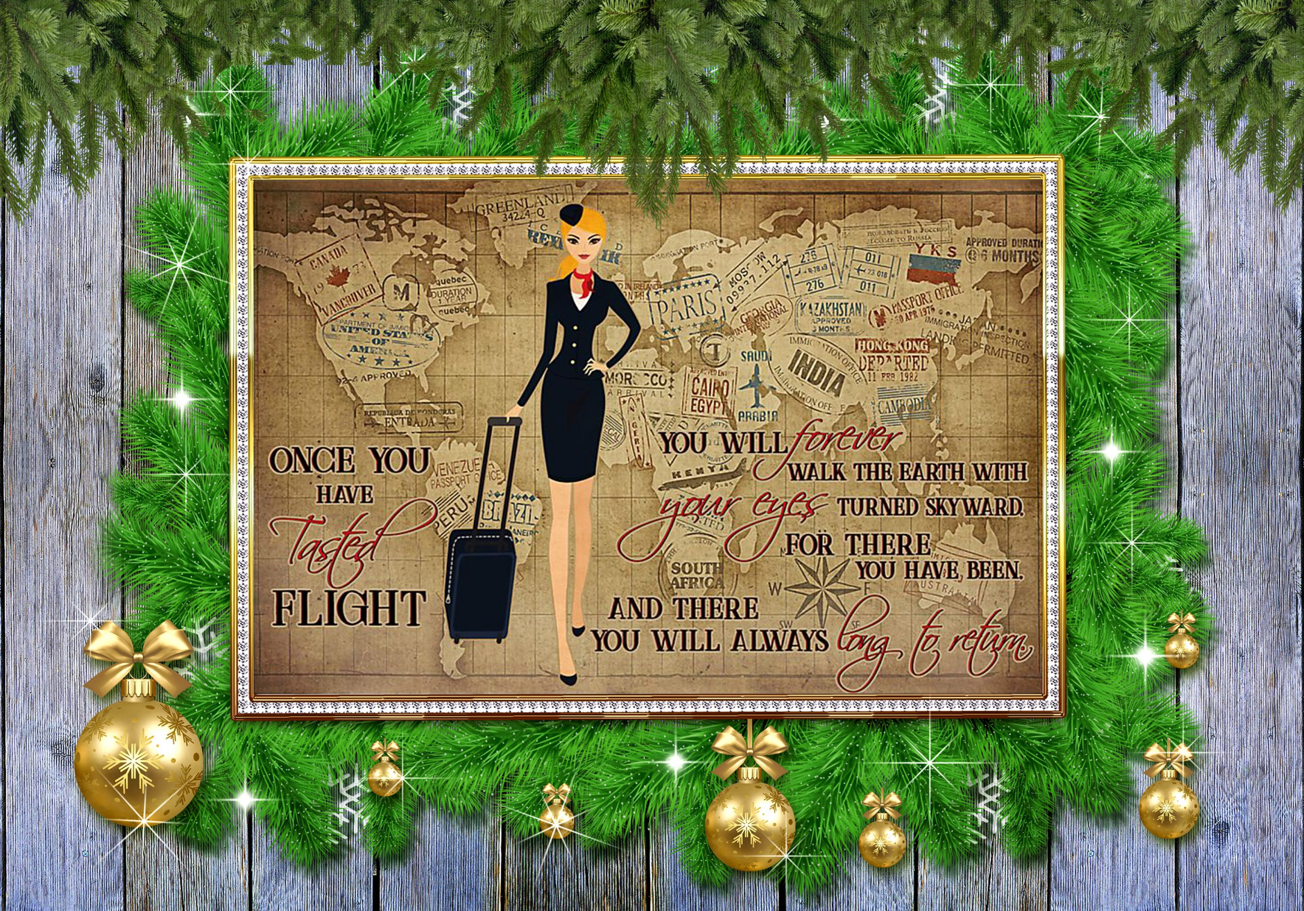 Once you have tasted flight you will forever walk the earth poster 2