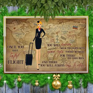 Once you have tasted flight you will forever walk the earth poster