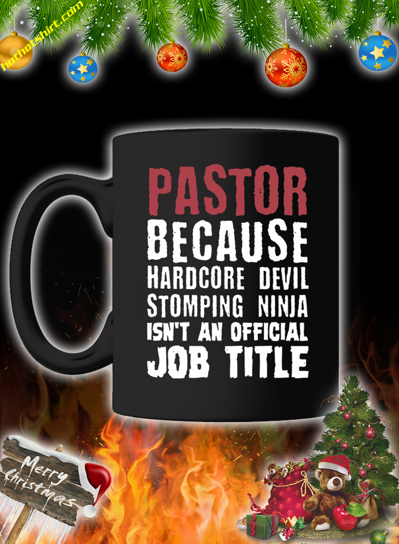 Pastor because hardcore devil mug 3