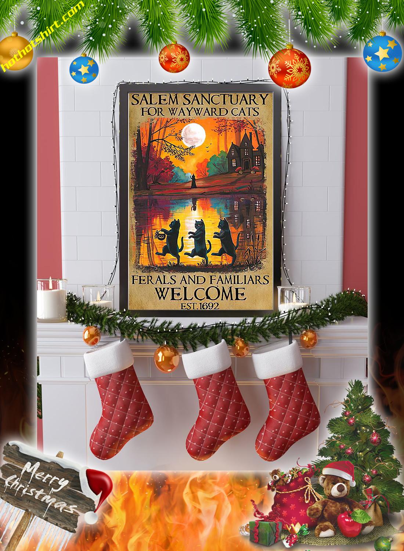 Salem sanctuary for wayward cats halloween poster 2