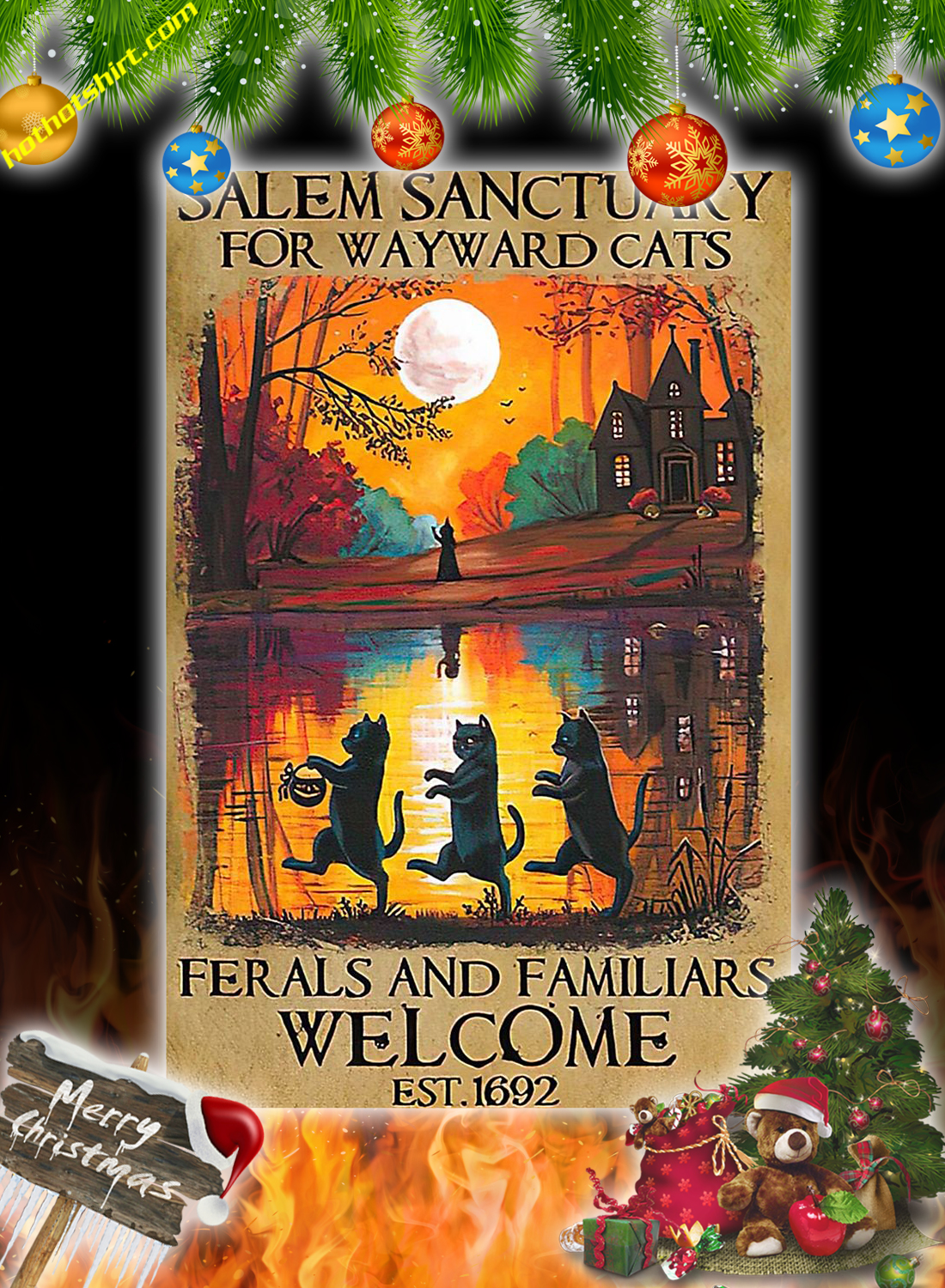 Salem sanctuary for wayward cats poster 1