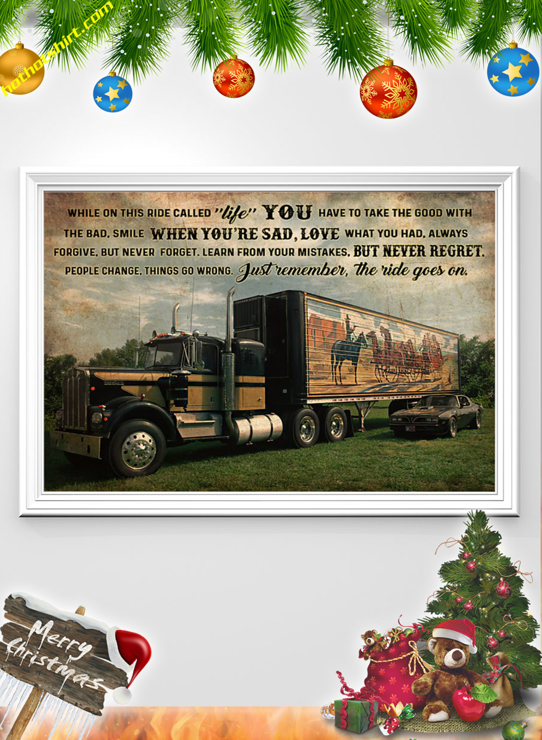 Smokey Truck While on this ride poster 1