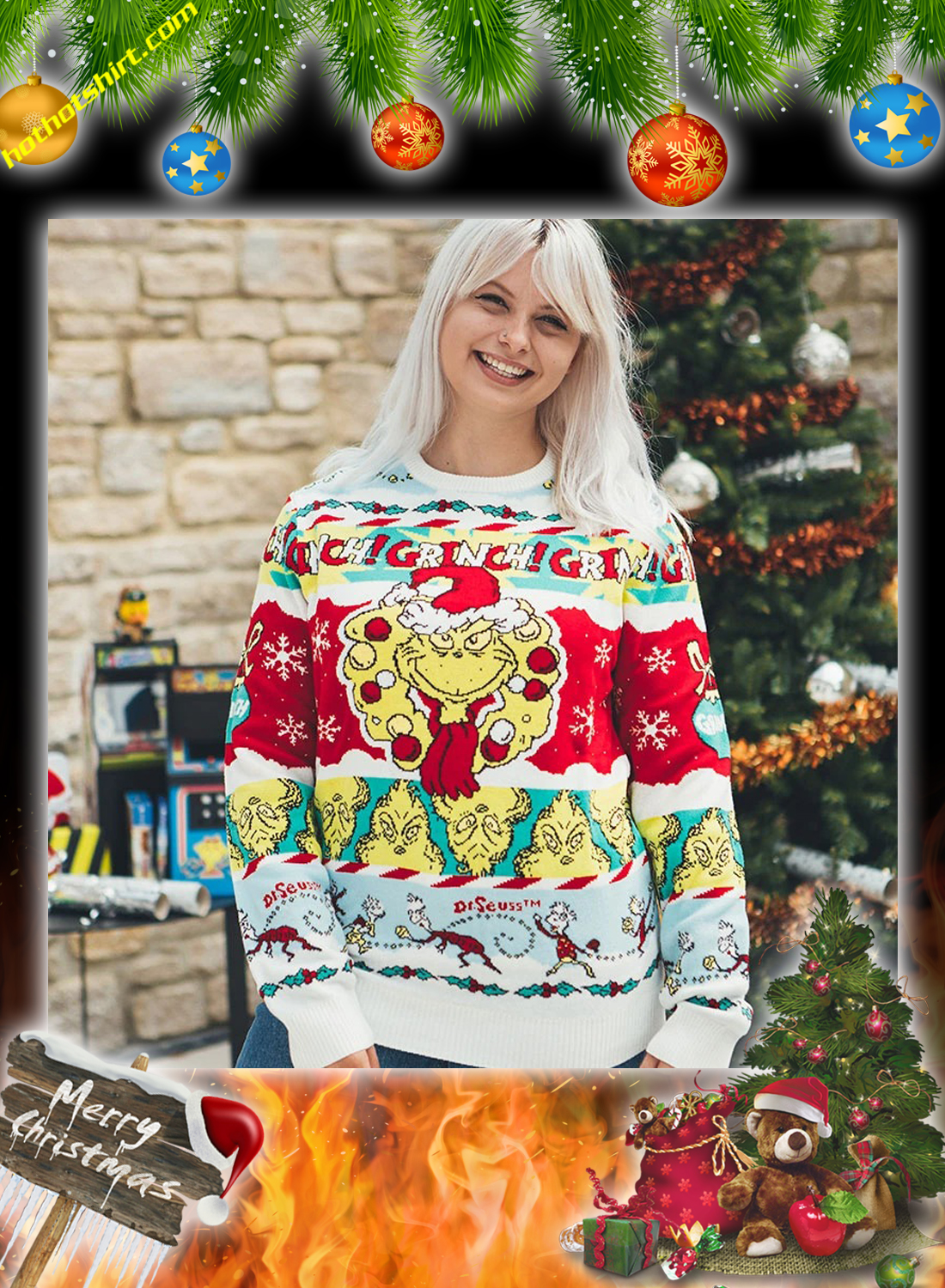 The grinch christmas jumper and ugly sweater 2