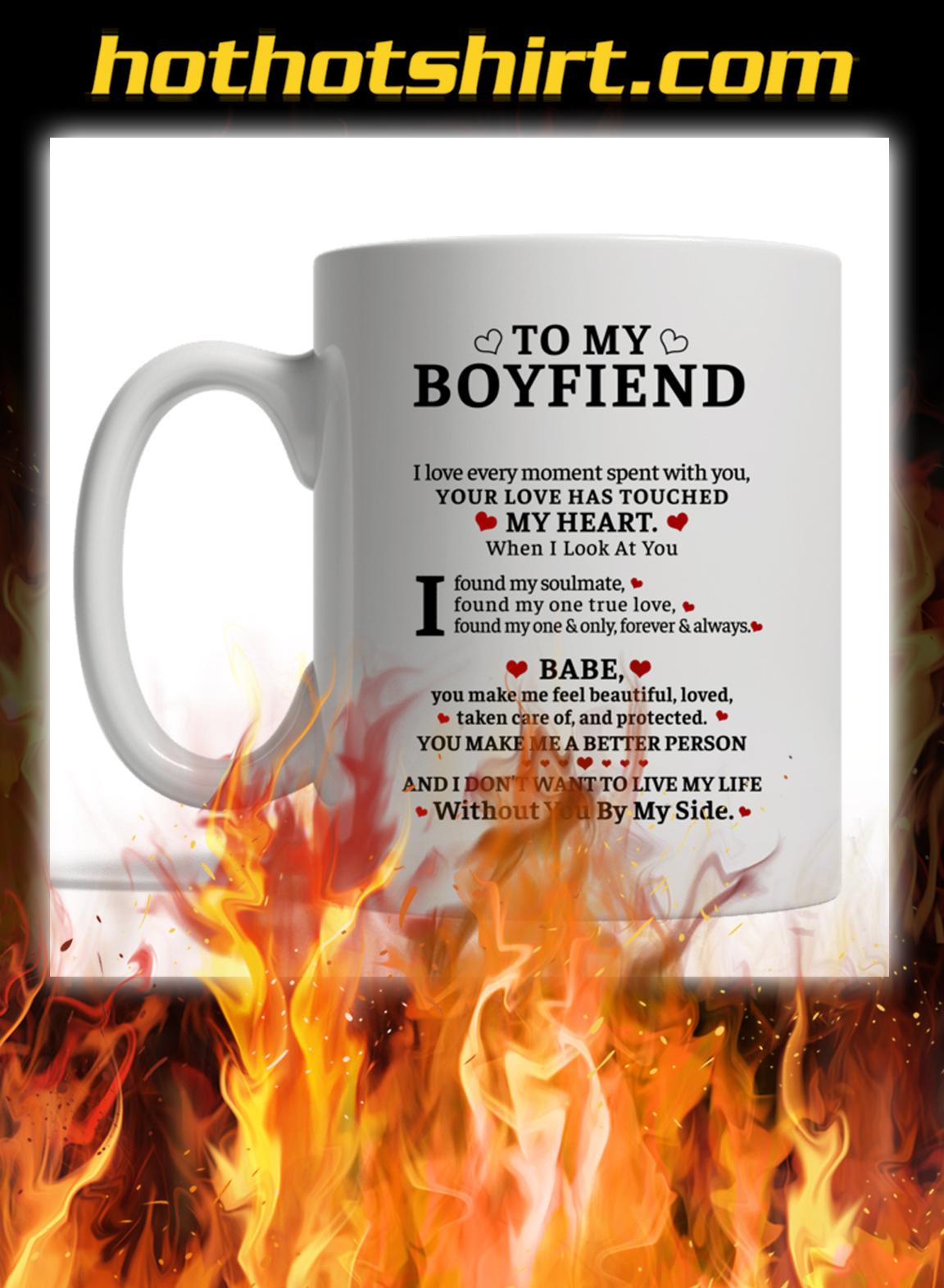 To my boyfriend customise custom name mug- pic 1