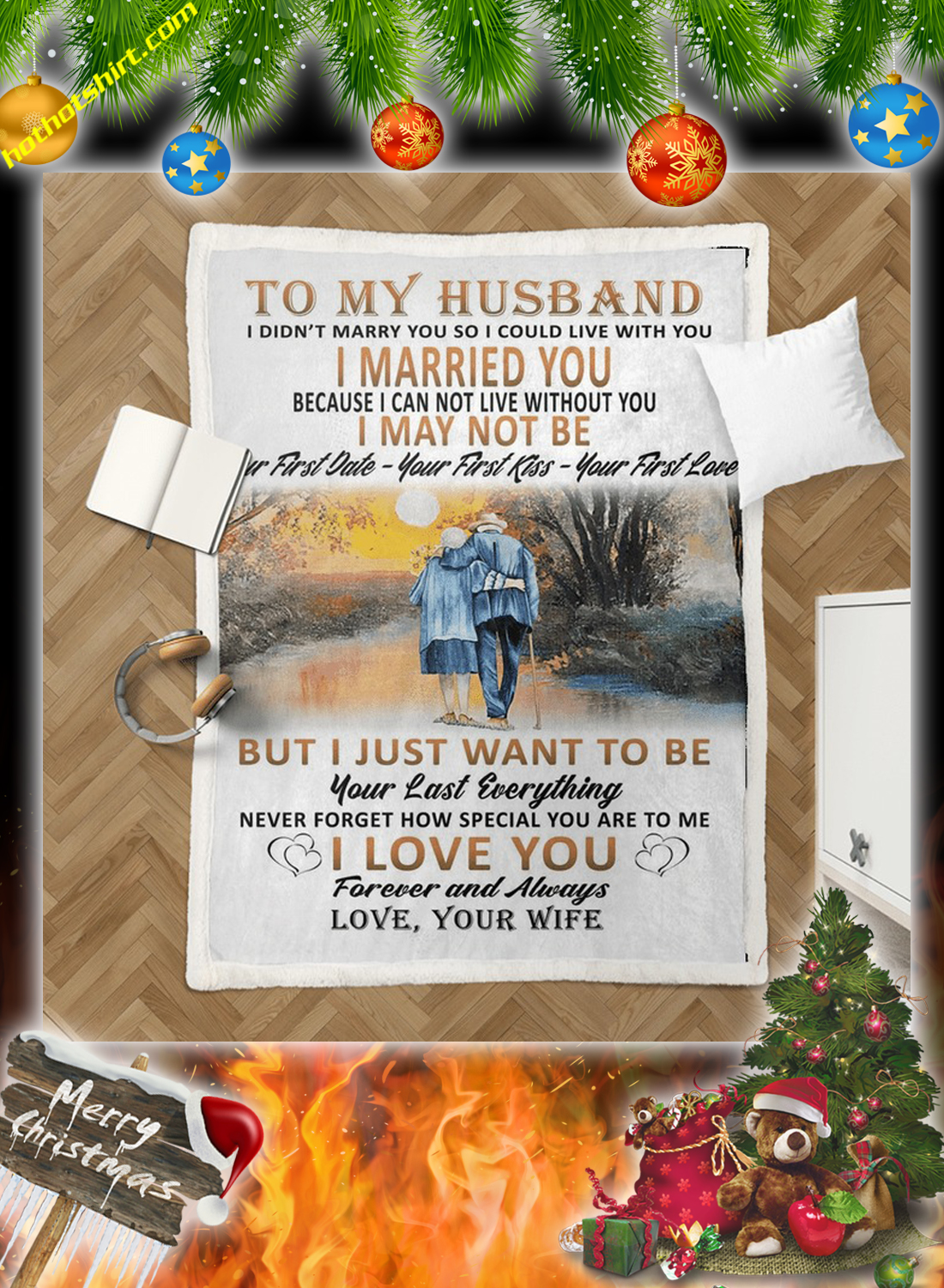 To my husband i didn't marry you so i could live with you your wife quilt 1