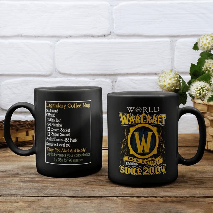 World of warcraft social distance training since 2004 mug