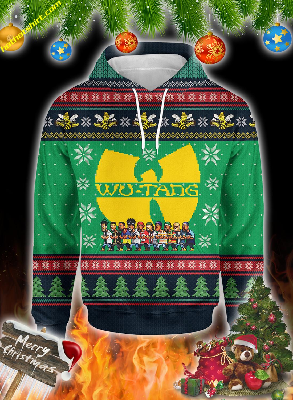 Wu-Tang clan christmas 3d all over print sweatshirt 1