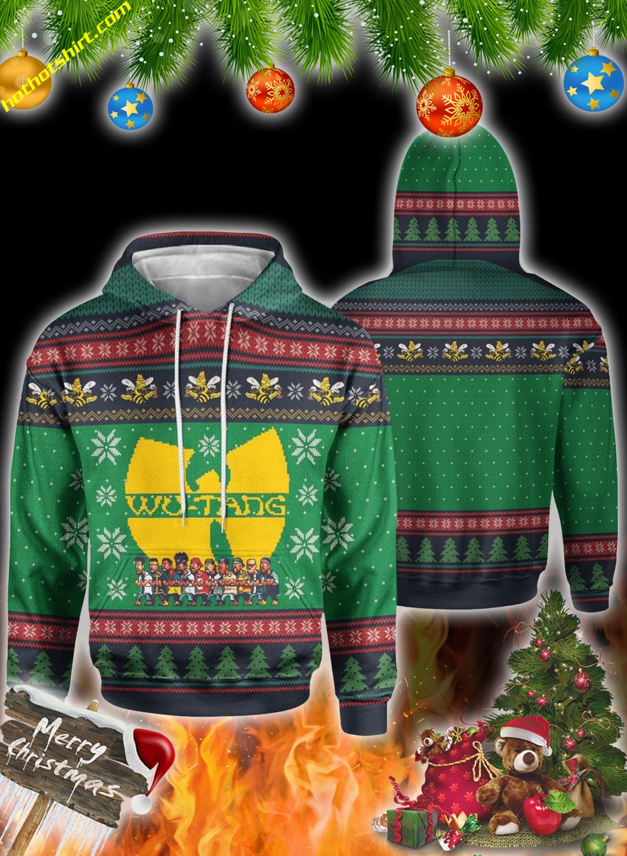 Wu-Tang clan christmas 3d all over print sweatshirt 2