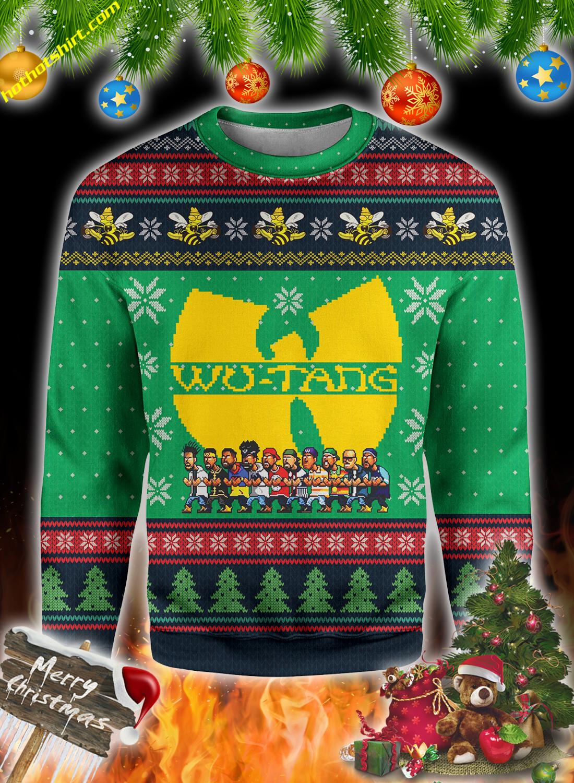 Wu-Tang clan christmas 3d all over print sweatshirt 3
