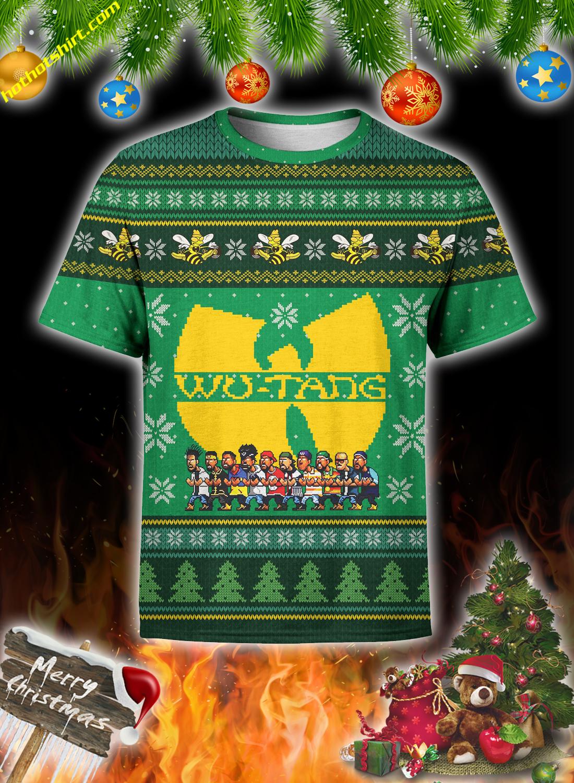 Wu-Tang clan christmas 3d all over print sweatshirt