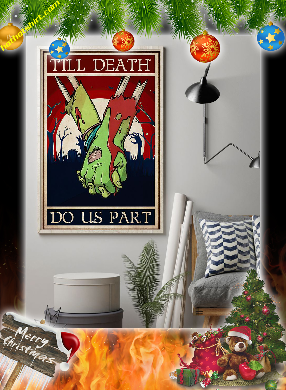 Zoombie till death do us part poster 1