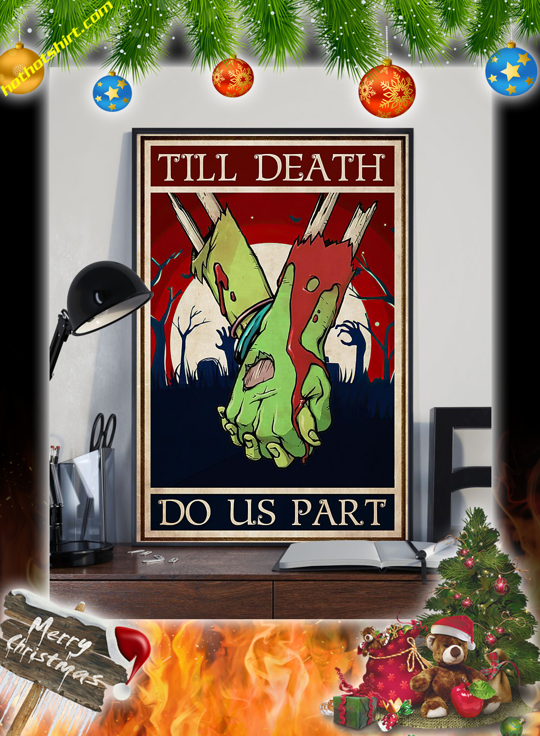 Zoombie till death do us part poster 2