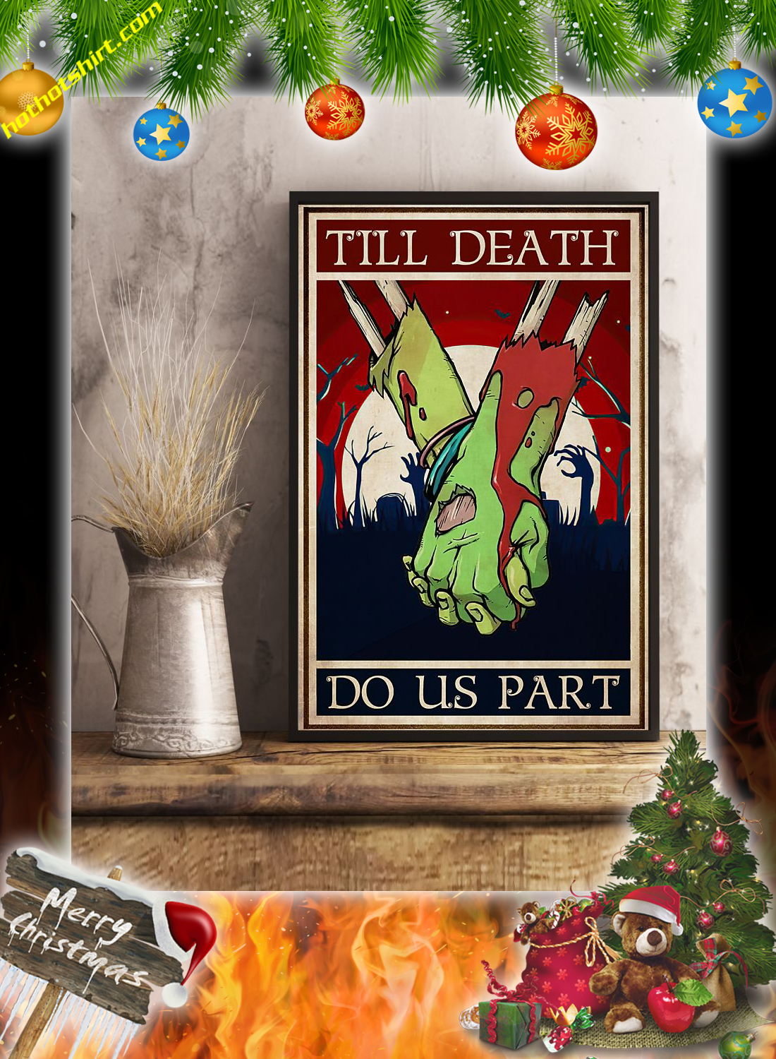 Zoombie till death do us part poster 3